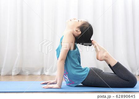 kid yoga at home 62890645