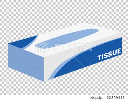Tissue paper tissue illustration 62899411