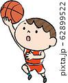 バスケット レイアップシュート 日本人 男子 62899522