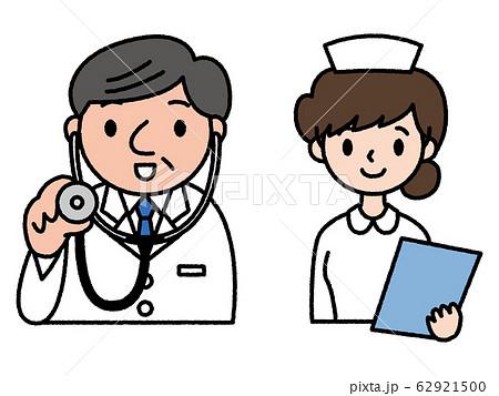 医師と看護師 62921500