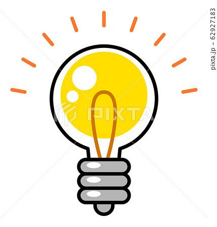 電球 ひらめき アイディア 62927183
