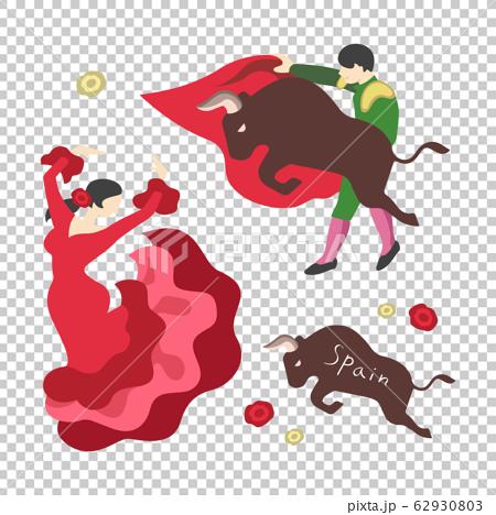 鬥牛士和弗拉門戈(西班牙圖片) 62930803