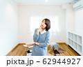 新生活 部屋 女性 62944927