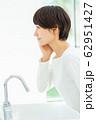 ミドル 女性 美容 ビューティーイメージ 62951427