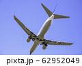 着陸する飛行機  ボーイング737-800 62952049