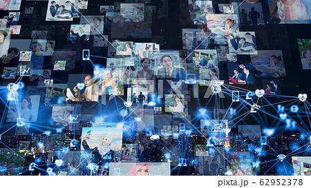 ソーシャルネットワーク  62952378