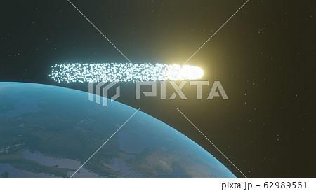 地球を横切る謎の流れ星 62989561