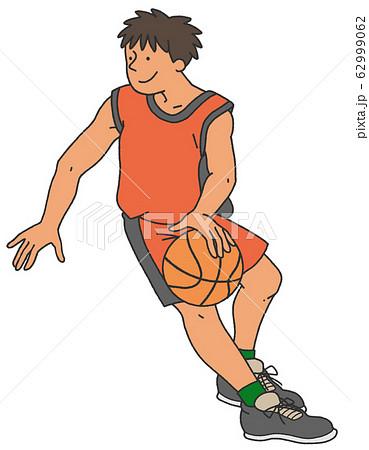 バスケットボールの選手 62999062