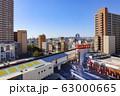 【東京都】冬の都市風景 63000665