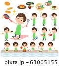 school boy pale green shirt summer_cooking 63005155