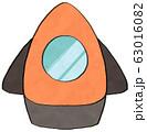 宇宙ロケット 宇宙探査船 63016082