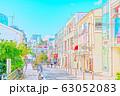 【東京都】原宿の街並み 63052083