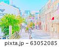 【東京都】原宿の街並み 63052085