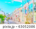 【東京都】原宿の街並み 63052086