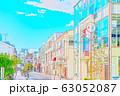 【東京都】原宿の街並み 63052087