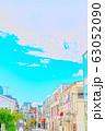 【東京都】原宿の街並み 63052090