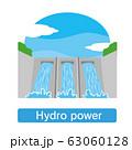 水力 水力発電 ダム 電気 電力 電力会社 63060128