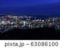 錨山からの神戸港の眺望 63086100