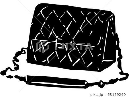 キルト模様の高級感あるチェーンバッグ 63129240