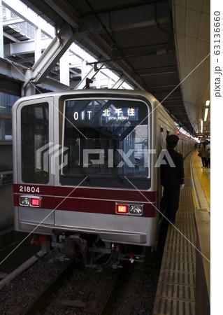 日比谷線直通の東武伊勢崎線20000系 63136660