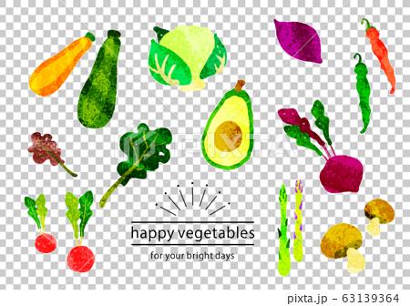 有機蔬菜套裝① 63139364