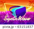 Futuristic horizontal banner virtual reality 63151837