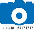 カメラアイコンイラスト 63174747