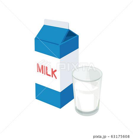 牛乳 63175608