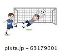 サッカー ゴール 63179601