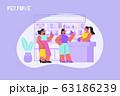 Perfume Shop Counter Composition 63186239