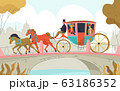 Victorian Carriage Equipage Composition 63186352