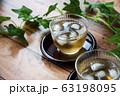 冷たい麦茶 63198095