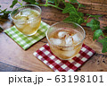 冷たい麦茶(コースター付き) 63198101