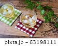 冷たい麦茶(コースター付き) 63198111