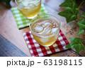 冷たい麦茶(コースター付き) 63198115