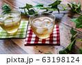 冷たい麦茶(コースター付き) 63198124