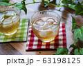 冷たい麦茶(コースター付き) 63198125