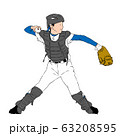 少年野球_キャッチャー 63208595
