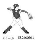少年野球_キャッチャー 63208601