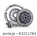 Disc and cover clutch car 63221784