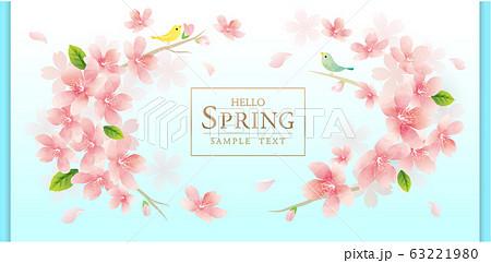 春の花 桜 ベクターイラスト 63221980