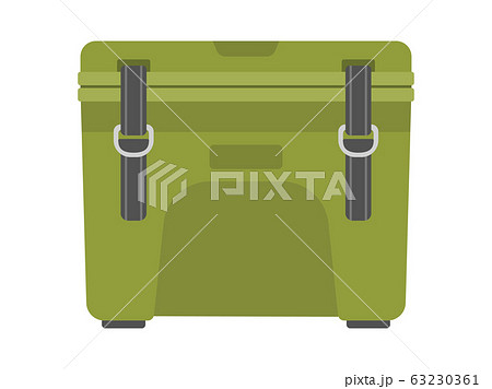 クーラーボックスのイラスト 63230361