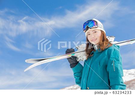 スキー 63234233