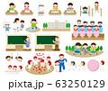 学校生活イラスト 63250129