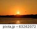夕日とカイト 63262072