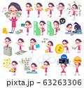 red glasses office women_money 63263306