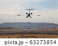 伊丹空港 飛行機 着陸 レフトエンド 63273854