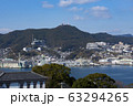南山手からの長崎港と稲佐山 63294265