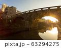眼鏡橋夕景 63294275