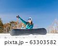 スノーボード 63303582